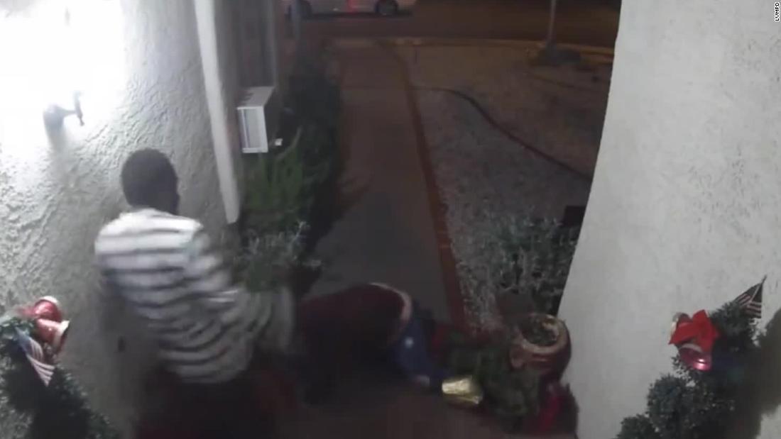 Γυναίκα φώναξε τον απαγωγέα της όνομα κατά τη διάρκεια του Λας Βέγκας απαγωγή έπιασε η κάμερα, αστυνομία