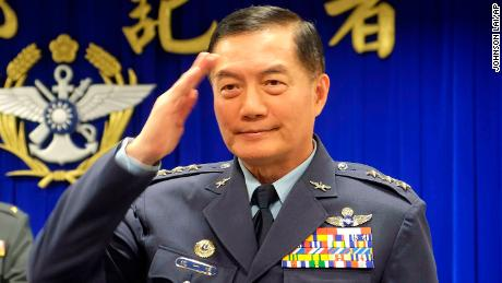 Taiwan's top military official Gen. Shen Yi-ming was killed in the crash.