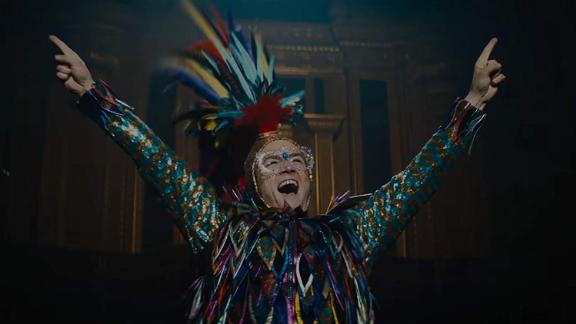 "Best original song: ""(I'm Gonna) Love Me Again,"" written by Elton John and Bernie Taupin for the movie ""Rocketman"""