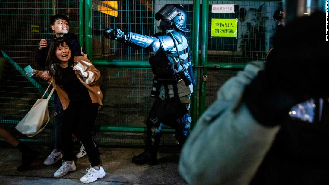Study: Nearly 2 million adults estimated to have shown PTSD symptoms during Hong Kong protests