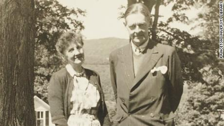T.S. Eliot and Emily Hale in Dorset, Vermont in the summer of 1946