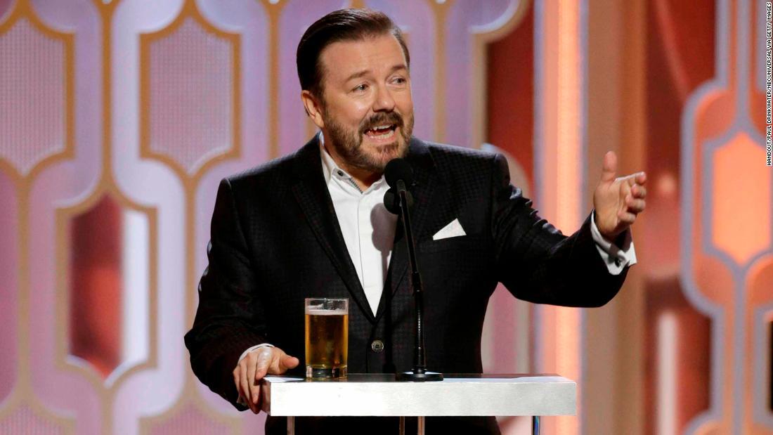 Επιστροφή Ricky Gervais ως οικοδεσπότης έχει ένα φύσημα του απελπισία