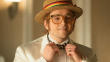 Taron Egerton as Elton John in 'Rocketman'