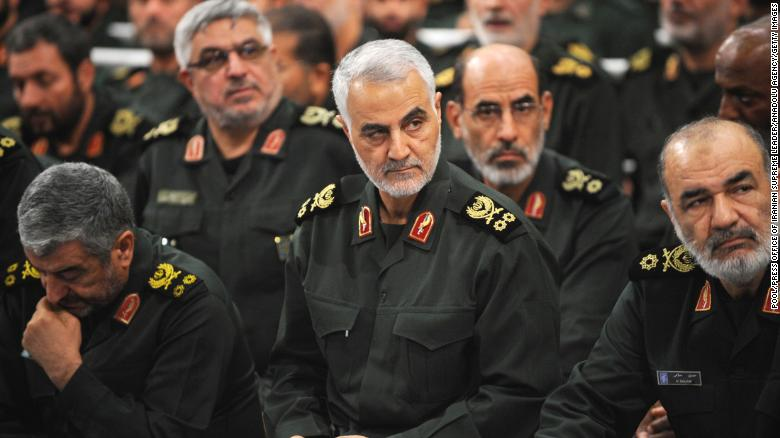 Iranian Quds Force commander Qassem Soleimani was killed by a US airstrike at Baghdad airport.
