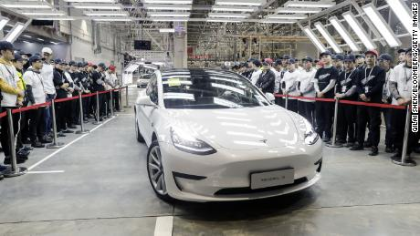 Tesla just cut the price of Model 3 cars made in China