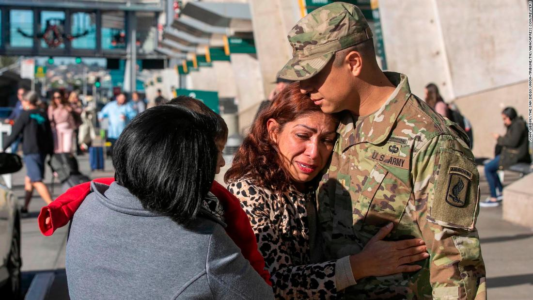 Army officer's mom deported; he says he feels betrayed - CNN