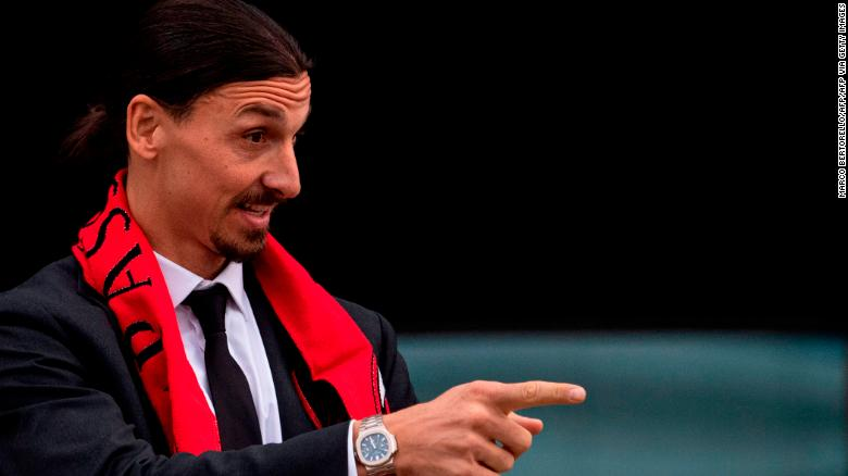 Ibrahimović has returned to AC Milan on a six-month deal.