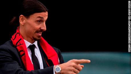 Ibrahimović has returned to AC Milan on a six-month deal.