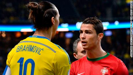 Zlatan Ibrahimovic The Duel With Cristiano Ronaldo Will Be Exciting Says Swedish Star Cnn