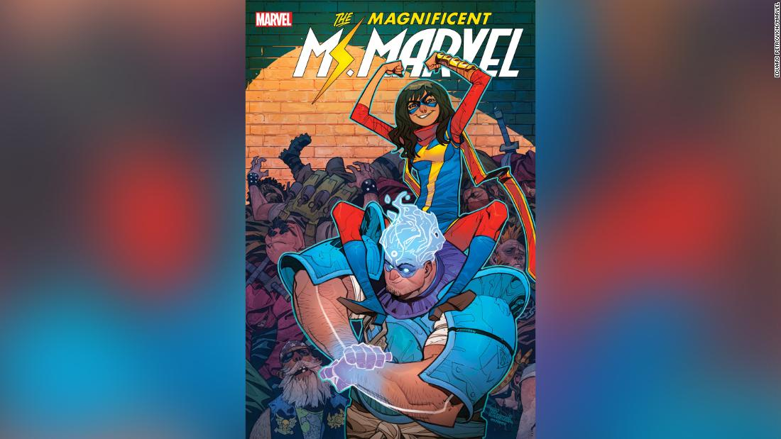 Amulet Marvel S Newest Superhero Is An Arab American From Dearborn Michigan Cnn
