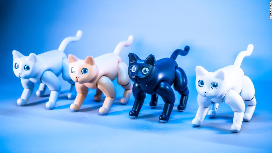 Roboter Kätzchen und intelligente Mülleimer sind immer buzz auf der CES 2020