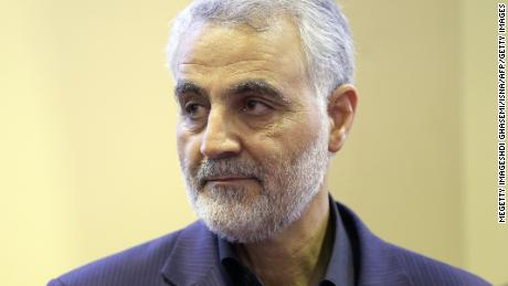 Qasem Soleimani was the commander of the Revolutionary Guard's Quds Force. He was killed in a US drone strike on January 3.