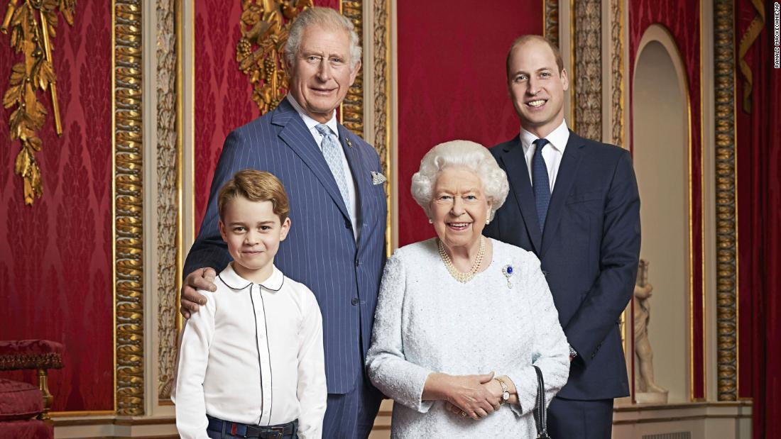 New year, new royal portrait released