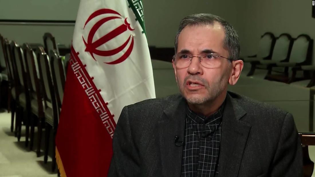 イラン大使がイランの計画を正確'厳しい復讐'