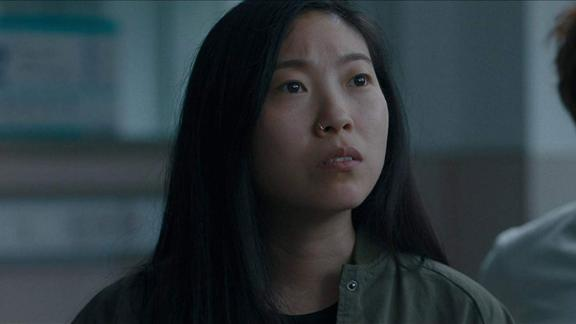 "Best actress in a motion picture — musical or comedy: Awkwafina, ""The Farewell"""