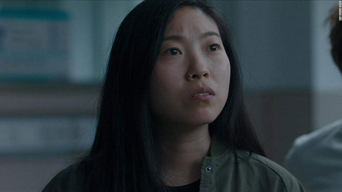 "<strong>Best actress in a motion picture — musical or comedy:</strong> Awkwafina, ""The Farewell"""