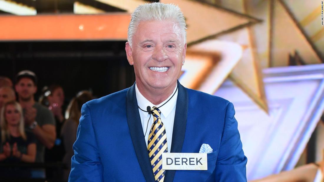Derek Acorah、テレビ視聴中に一番霊のインスタンスは、死亡