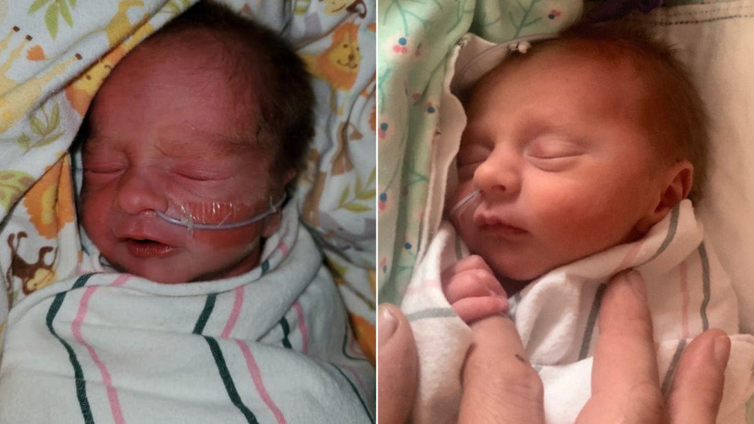 Image for These Indiana twins were born just 30 minutes apart, but in different decades