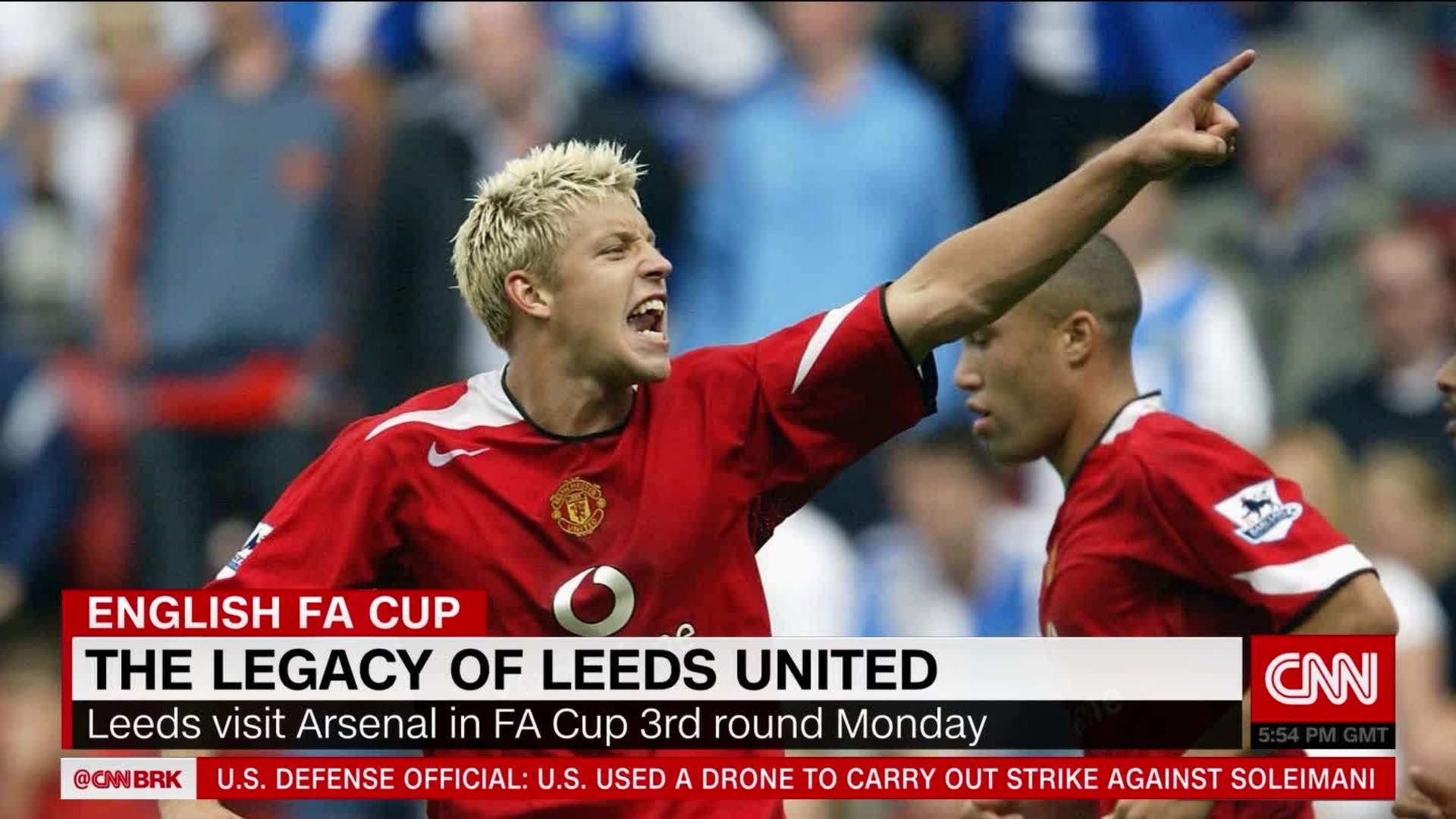 Former Footballer Alan Smith Reflects On Life At Leeds And His Big Move To Man United Cnn Video