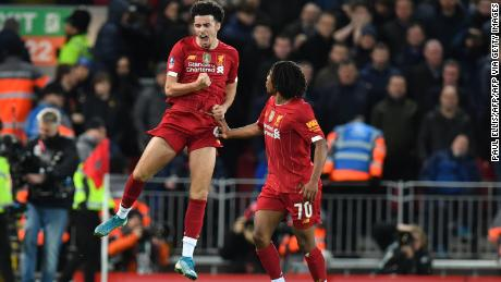 Teenager Curtis Jones helps Liverpool beat Everton with sensational goal