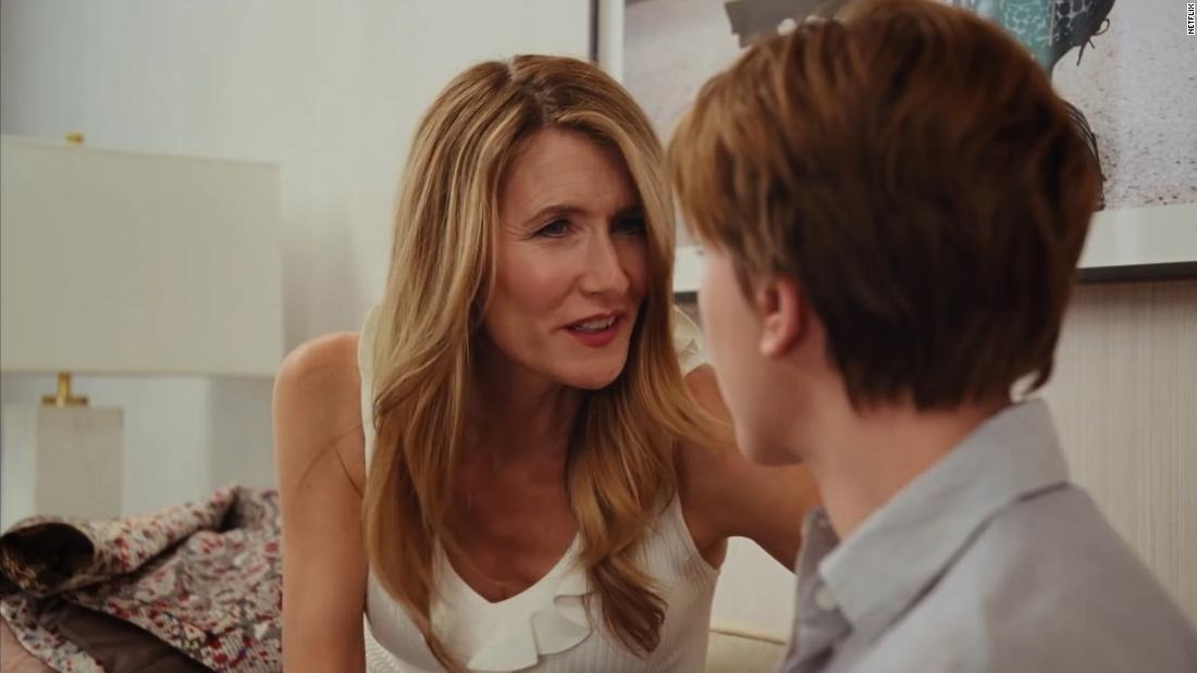 "<strong>Best supporting actress in a motion picture: </strong>Laura Dern, ""Marriage Story"""