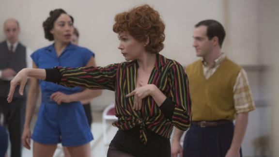 "Best actress in a miniseries or television film: Michelle Williams, ""Fosse/Verdon"""