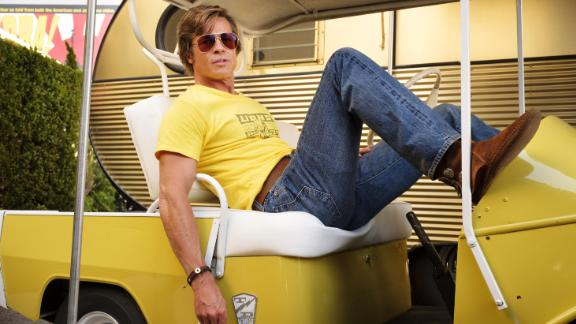 "Best supporting actor in a motion picture: Brad Pitt, ""Once Upon a Time in Hollywood"""
