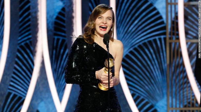 """Hildur Gu?nadóttir won the Golden Globe for Best Original Score for """"Joker,"""" making her the first woman to win the award solo."""