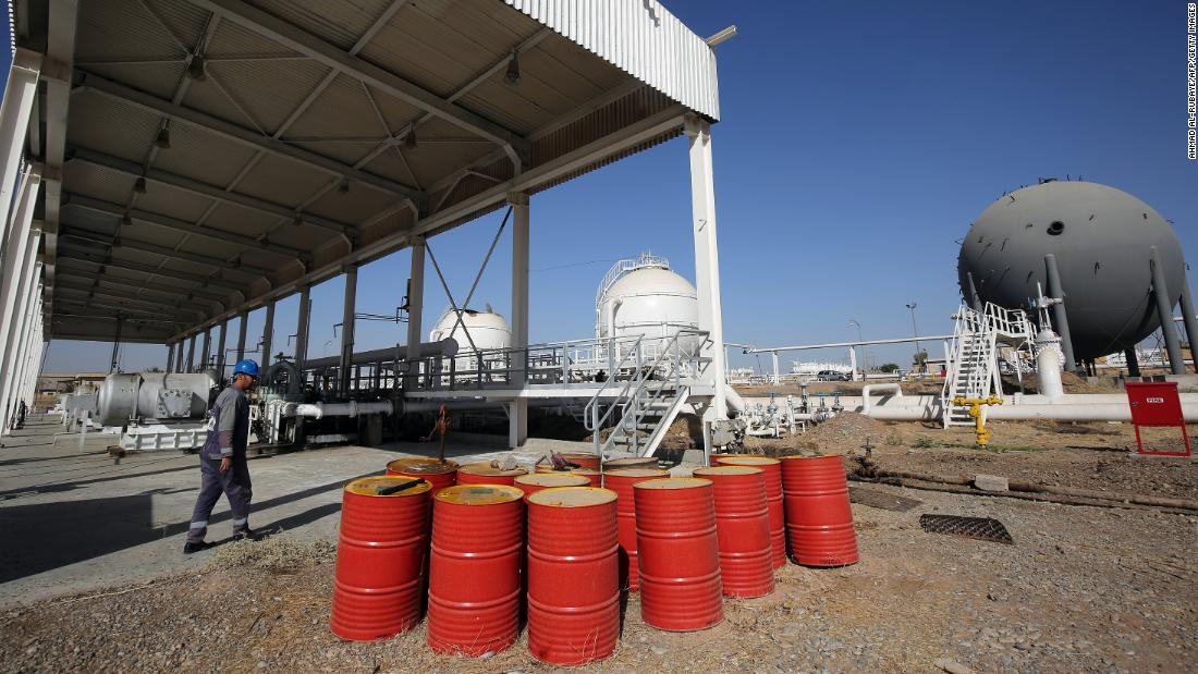 Oil prices soar after Iran attacks airbases housing US troops in Iraq thumbnail