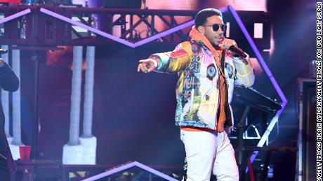 Ludacris performs onstage during Bud Light Super Bowl Music Fest