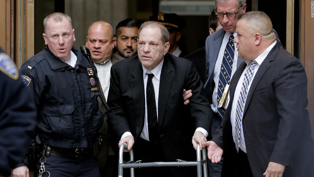 Harvey Weinstein threatened with jail for repeatedly using his cell phone in court thumbnail