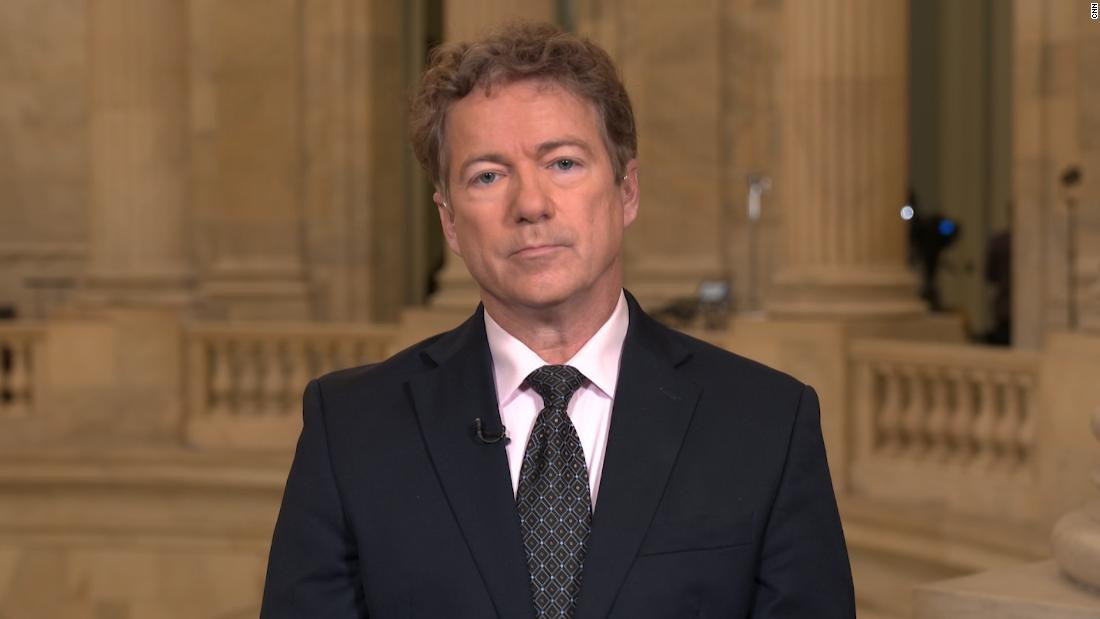 Rand Paul: You'd have to be brain-dead to believe that