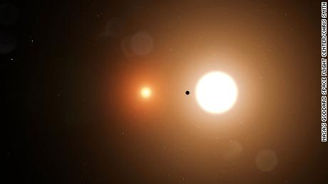 A NASA high school intern helps discover planet with two suns