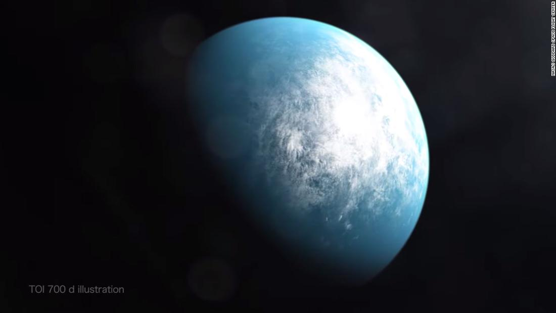 TOI 700 d is the first potentially habitable Earth-size planet spotted by NASA's planet-hunting TESS mission.