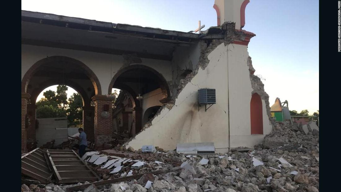 Image result for earthquake puerto rico now