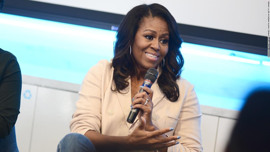 It's Michelle Obama's birthday. And her husband wants you to know it