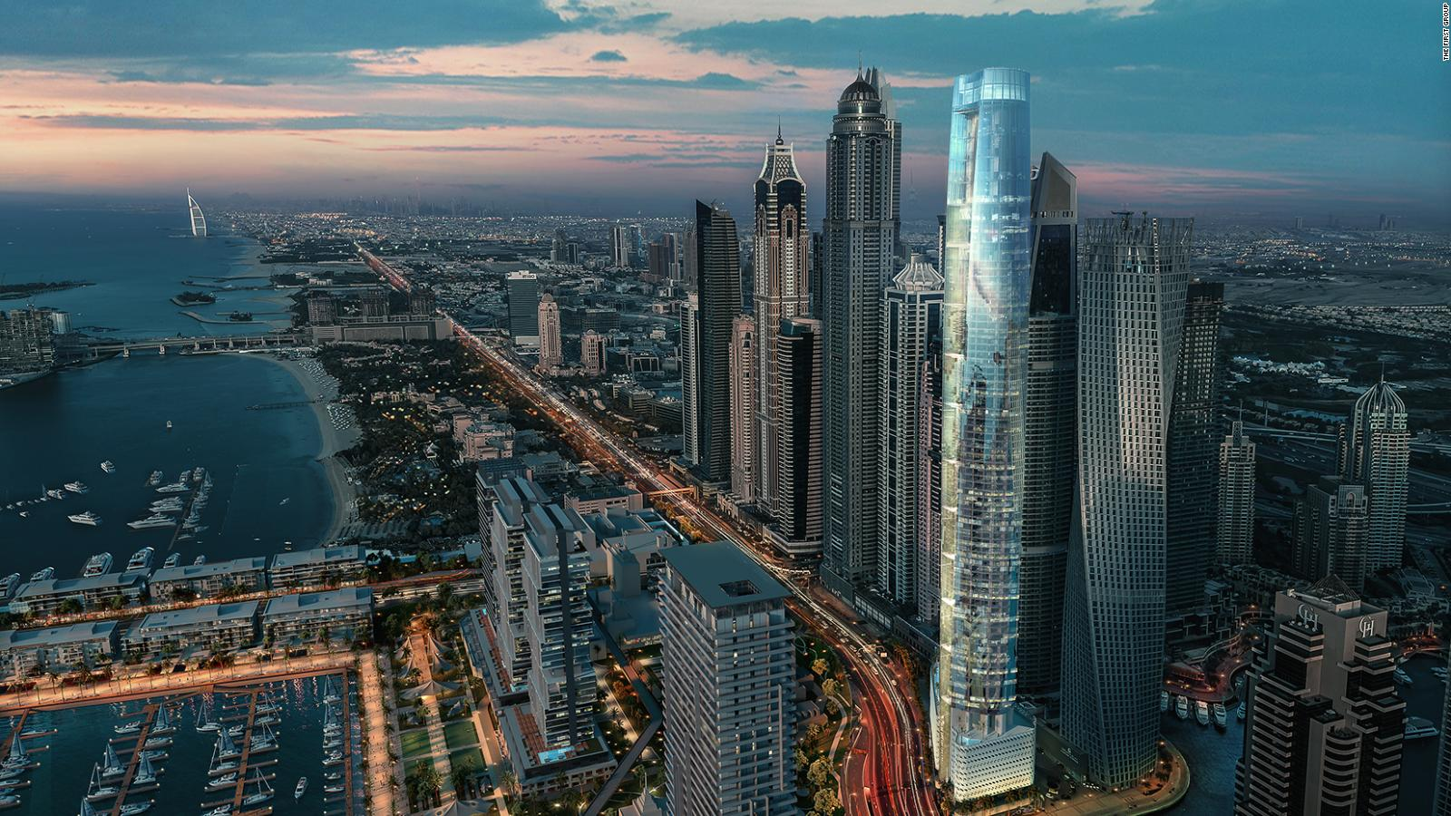 The World S Tallest Hotel To Open In Dubai Cnn Travel