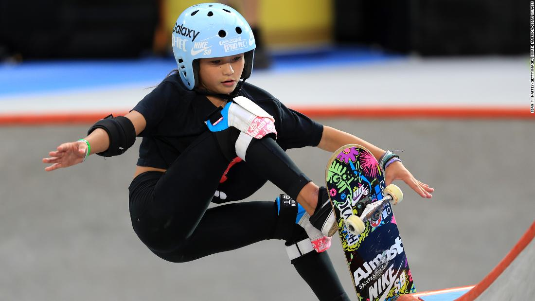 Skateboarding prodigy's father speaks of terror not knowing if daughter would 'make it through the night' after horror fall