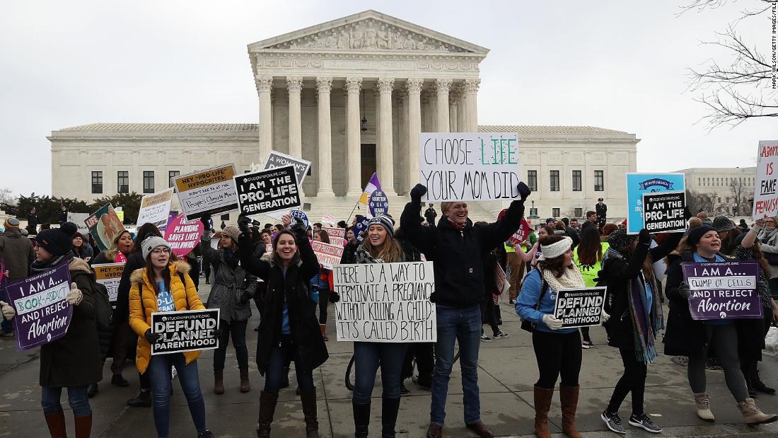Anti-Abtreibung-Gruppe kündigt $52 Millionen-budget zu reelect Trump und anti-Abtreibung Senat Mehrheit