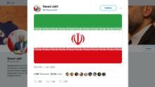 Iran official tweet mirrors Trump tweet ebof vpx_00000000.jpg