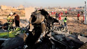 Victims of Iran plane crash hailed from around the world