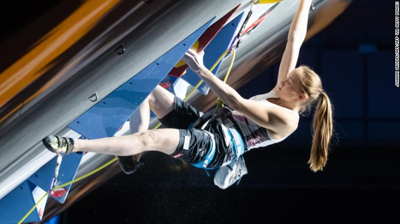 Sandra Lettner is one of sport climbing's brightest young stars.