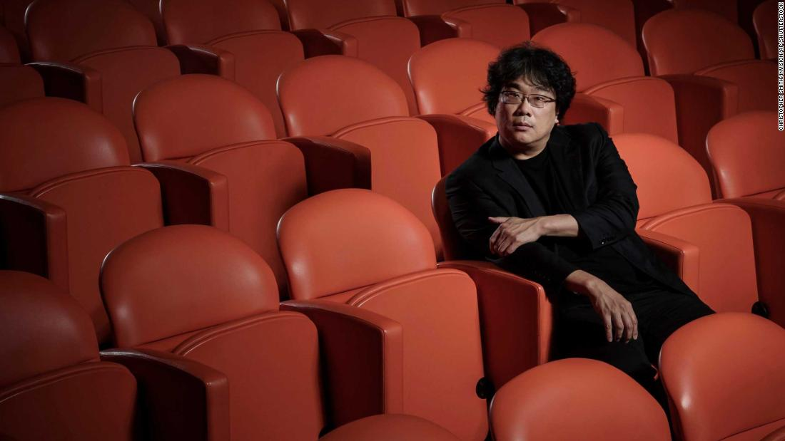 """Bong Joon Ho in New York last autumn. The Korean director's film """"Parasite"""" is nominated for six Academy Awards and could become the first film not in the English language to win Best Picture."""