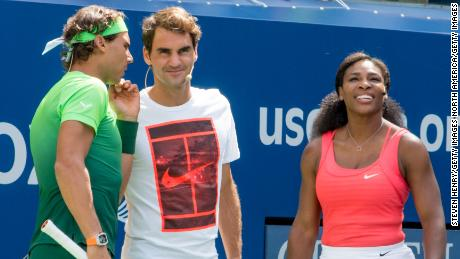 Serena Williams, Roger Federer and Rafa Nadal commit to Australian bushfires charity match