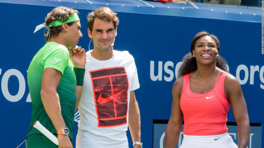 Serena Williams, Roger Federer und Rafa Nadal zu verpflichten australischen Buschfeuer charity-match