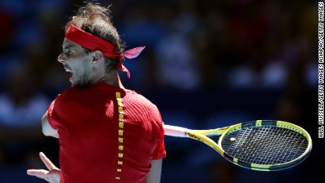 Rafa Nadal has been competing for Spain at the ATP Cup ahead of the Australian Open.