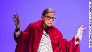 How Ruth Bader Ginsburg is trying to check the conservative majority