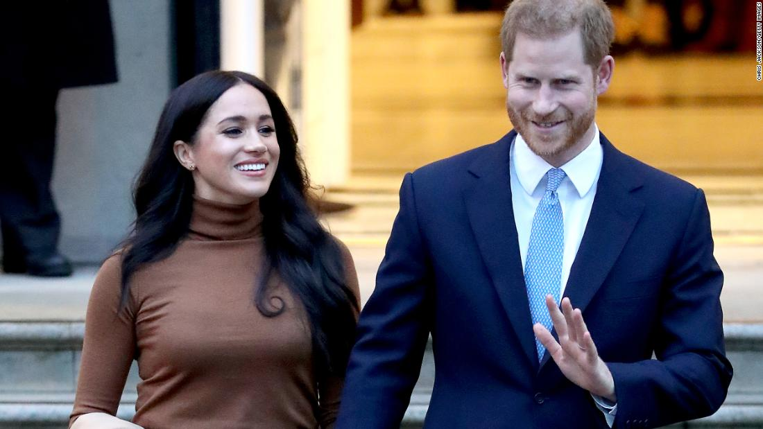 Late-night-comedians Harry mock und Meghan