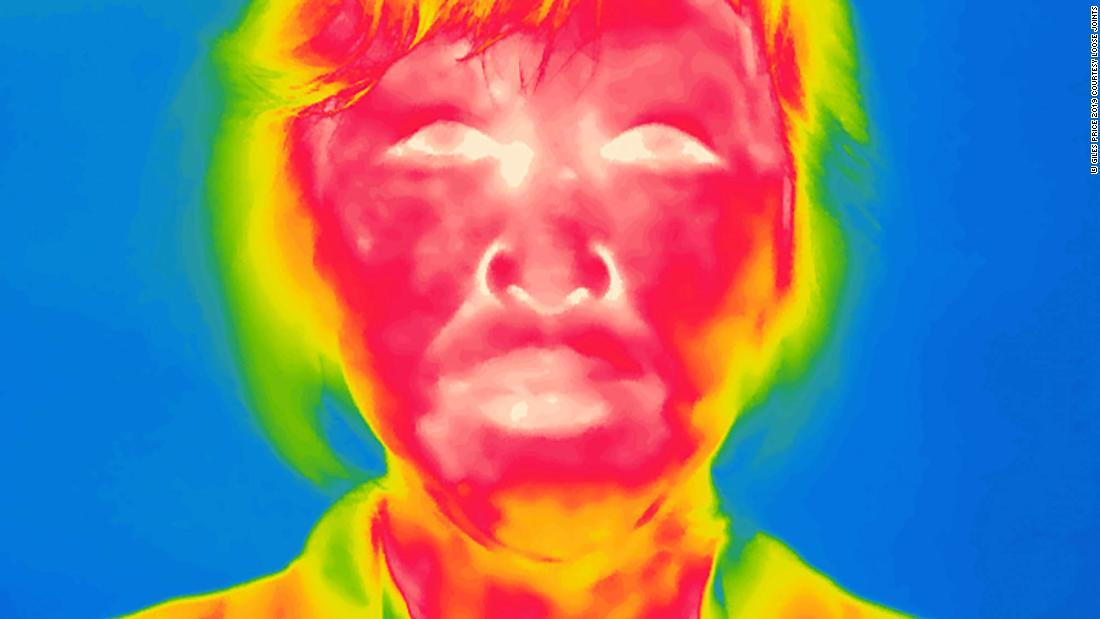 Beunruhigend thermische portraits zeigen Fukushima-Bewohner die Rückkehr nach Hause