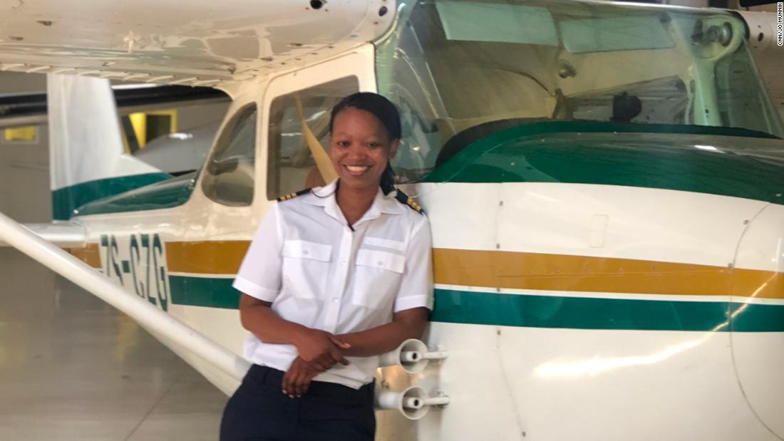 Αυτό Νότιας Αφρικής πιλότος είναι σε μια αποστολή για να αλλάξει το πρόσωπο της αεροπορίας στην Αφρική